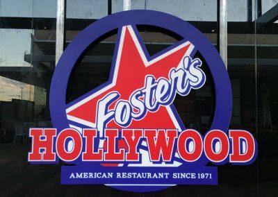 Rótulos para restaurantes: Foster's Hollywood Mallorca
